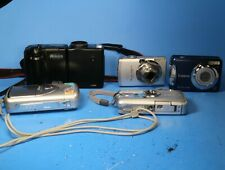 Lot of 5 Digital Cameras For Parts or Repair - Nikon Canon Pentax