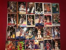 Sam Cassell Lot of 33 Rockets, Bucks, Clippers 23 Different Cards Base, Rookies