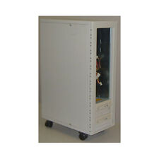 10 to 14 bay external drive case with dual redundant power supplies for hard dri