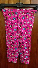 Paul Frank The Collection Girls' Pants - Pink, Multi Color Design - Size 5 - New