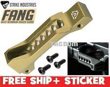 Strike Industries FANG FDE Billet Aluminum Trigger Guard Skeleton Faster Loading