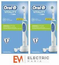 Spazzolini e articoli blu per l'igiene orale