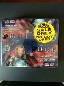 2011 Upper Deck Marvel Thor Movie Trading Card Box 16 packs 5 cards per pack