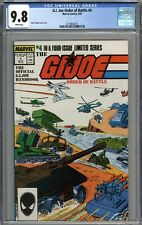 G.I. Joe Order of Battle #4 CGC 9.8 NM/MT WHITE PAGES