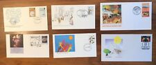 Six Australian First Day Covers - Some rare - Great pictorial postmarks - Pack 4