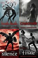 Hush Hush Saga 4 Books Young Adult Collection Paperback By Becca Fitzpatrick