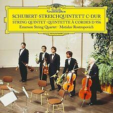 Schubert / Emerson S - String Quintet in C D956 [New Vinyl LP] Ltd E