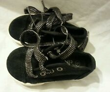 Ellemenno Girls Shoes Size 6 Toddler Footwear Black