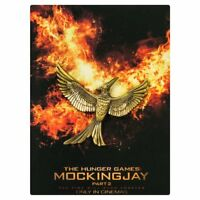The Hunger Games Movie Collectors Gold Mockingjay Pin Katniss Symbol Wings Bird