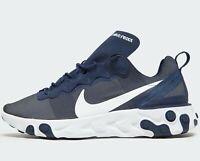 ⚫ 2019 Authentic Nike React Element 55 ® ( Men UK 12 EUR 47.5 ) Midnight Navy