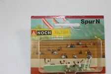 n2351, Noch Figuren Tennismatch 3364 mint BOX Spur N altes set dioramen