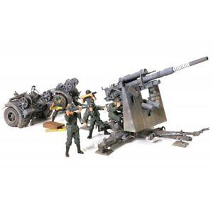 FORCES OF VALOR - GERMAN ANTI-TANK ARTILLERY KRUPP FLAK 36 WITH FLAK ROHR 36 GUN