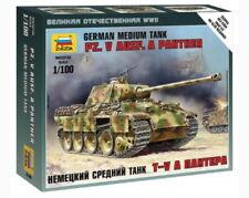 Zvezda 6196 1/100 Pz.kpfw.v Panther Ausf.a Plastic Model Kit