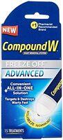 Compound W Freeze Off Advanced Wart Solution 15 Treatments