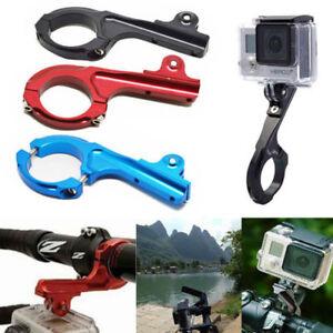 Aluminum Bike Handlebar Bar Standard Mount Adapter For Gopro Hero 9 8 7 6 5 4 3