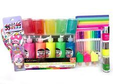 Novedad puntiagudas Bolígrafos Papelería Escolar Oficina Colorido Para Niños Tactil ADHD X3