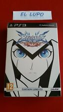 BLAZBLUE CONTINUUM SHIFT EXTEND EDITION LIMITEE NEUF SOUS BLISTER PS3 SONY VF