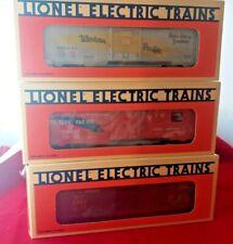 Lionel 6-19257 6464 Boxcar Series Edition 2 Set Of 3 Cars RI WP BRAND NEW MIB