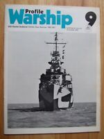 USS Charles Ausburne, Fletcher Class Destroyer 1942-1967 (Warship Profile 9)