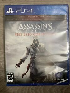 Sealed assassins creed ezio collection ps4