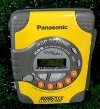 Panasonic Shockwave XBS AM/FM Radio Cassette player RQ-SW5, Tested Works
