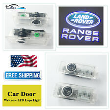 2x LED Door Laser Projector Logo Ghost Shadow Lights For Land Rover Range Rover