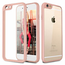 iPhone 6 Hybrid Clear Ultra Thin Case Cover Free Shipping - Pink