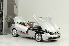 2007 Mercedes-Benz SLR McLaren Roadster grau metallic 1:18 Minichamps