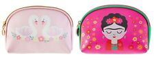 Pink Make Up Bag Cosmetics Case Beauty Storage Pouch Zipped Travel Gym Gift