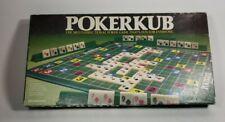 Vintage 1983 Pressman POKERKUB Poker Game 100% COMPLETE Excellent Condition