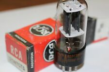 12SN7GTA RCA VINTAGE TUBE WITH BLACK PLATES - NOS IN BOX