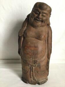 Buddha stehend 40cm Holz handgefertigt