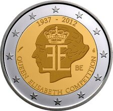 BELGIUM 2 EURO COIN 2012 FROM ROLL - QUEEN ELISABETH COMPETITION *** UNC ***