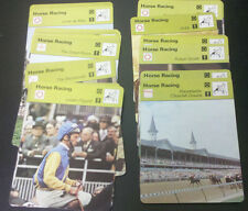 HORSE RACING / JUMPING Sportscaster cards $0.99 each 1977-1979