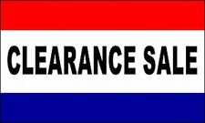 Clearance Sale Flag Banner 3x5 ft Business Sign Shop Store Special Promotion