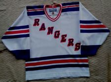 Vintage Bauer New York Rangers NHL Hockey Jersey Size. M  made in Canada Rare