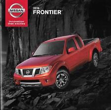 2016 16 Nissan  Frontier  original sales brochure Mint