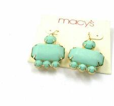 Aqua Gemstone Dangle Earring B7518 Free Shipping Fashion Jewelry Pretty
