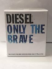 ONLY THE BRAVE BY DIESEL 4.2 OZ EDT SPRAY for MEN'S COLOGNE* NEW IN SEALED BOX