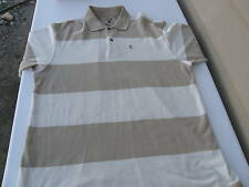 Izod Jeans Rockwashed Men's Striped Short Sleeve Polo Golf Shirt 100% Cotton XXL
