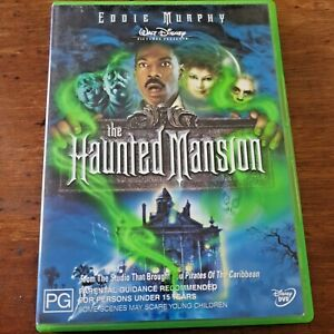 The Haunted Mansion DVD Eddie Murphy R4 Like New! – FREE POST