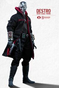 GI JOE DESTRO Weapon Supplier Sideshow Collectibles 1:6 Action Figure_002618_NEW