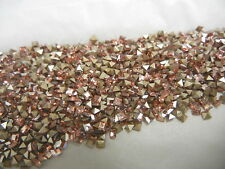 350 swarovski xilion square stones,2mm light rose champagne/foiled #4428