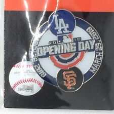 2018 Los Angeles Dodgers Vs San Francisco Giants Opening Day Pin