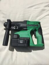 HITACHI DH24DVC, 24 VOLT SDS CORDLESS HAMMER DRILL,24 VOLT HAMMER, WITH CHARGER