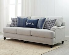 LIGHT GREY LINEN LIKE SOFA