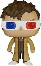 10th Doctor Who Pop Vinyl Figure With 3d Glasses One Size