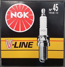4x ZÜNDKERZE 96463 NGK V-LINE No. 45 TR5B-13 Ford Volvo #