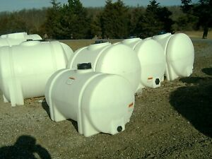 Norwesco poly water storage/transport tank/container