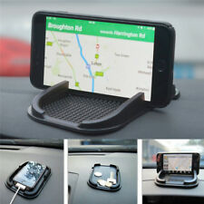 Car Mobile Phone Holder Non Slip Dashboard Mat Anti Skid Grip Mount Black Mat